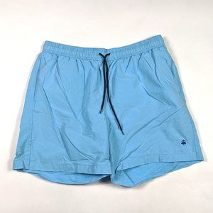 Brooks Brothers 346 Swim Trunks Size L Sky Blue